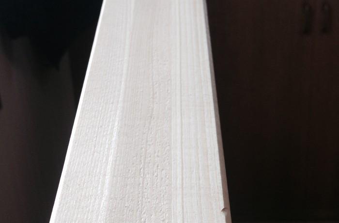 Tasseau lamellé-collé très grande longueur